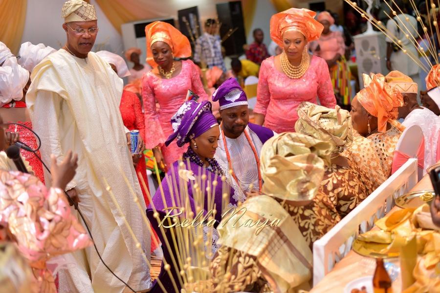 Folashade & Teina Yoruba & Ijaw Nigerian Wedding in Lagos - AkinTayoTimi - BellaNaija 2015 -23