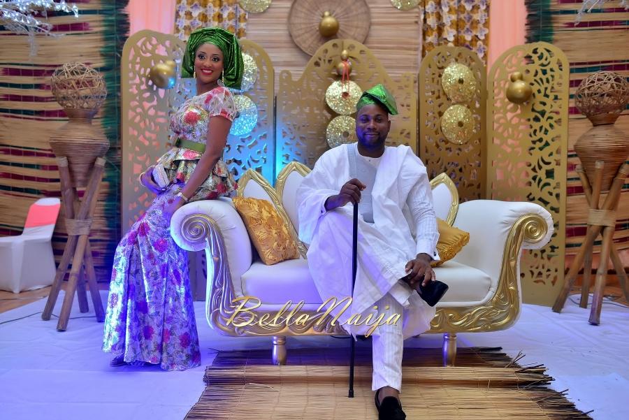 Folashade & Teina Yoruba & Ijaw Nigerian Wedding in Lagos - AkinTayoTimi - BellaNaija 2015 -28