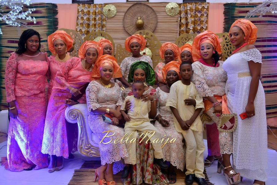 Folashade & Teina Yoruba & Ijaw Nigerian Wedding in Lagos - AkinTayoTimi - BellaNaija 2015 -32
