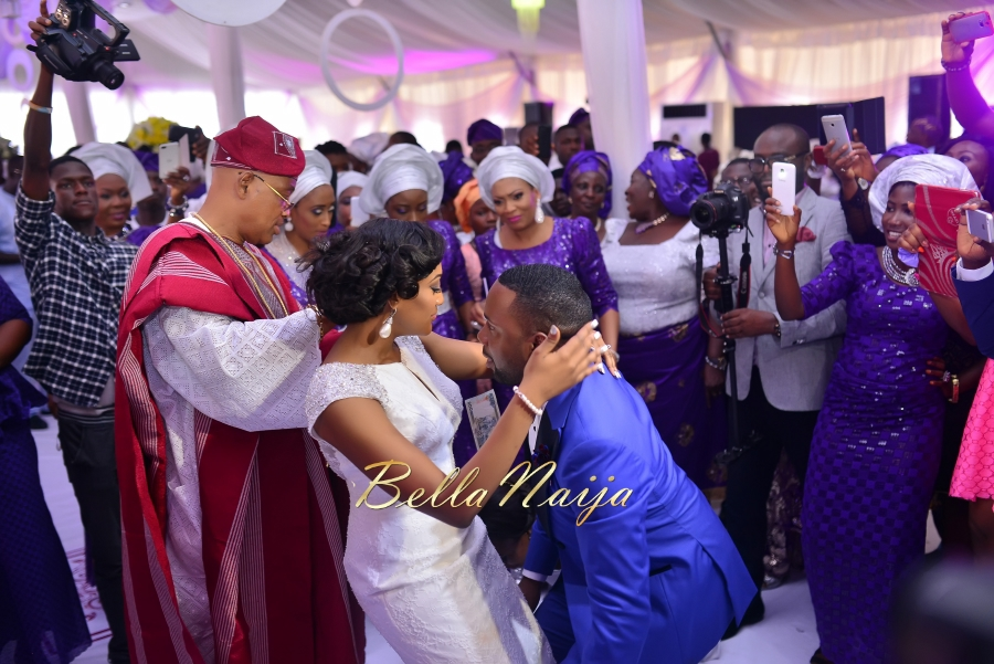 Folashade & Teina Yoruba & Ijaw Nigerian Wedding in Lagos - AkinTayoTimi - BellaNaija 2015 -38