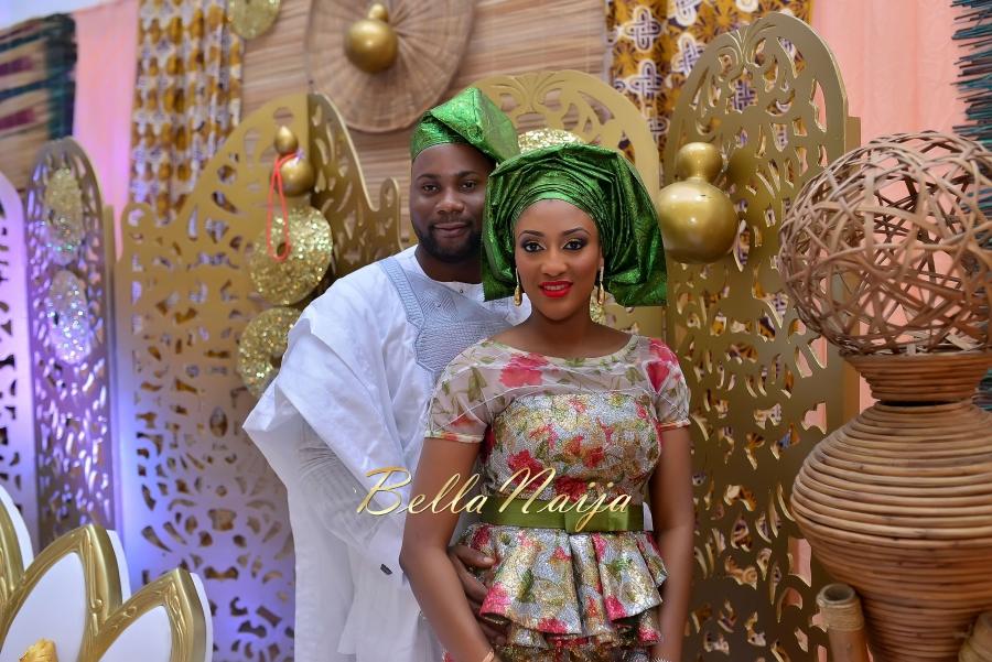 Folashade & Teina Yoruba & Ijaw Nigerian Wedding in Lagos - AkinTayoTimi - BellaNaija 2015 -40
