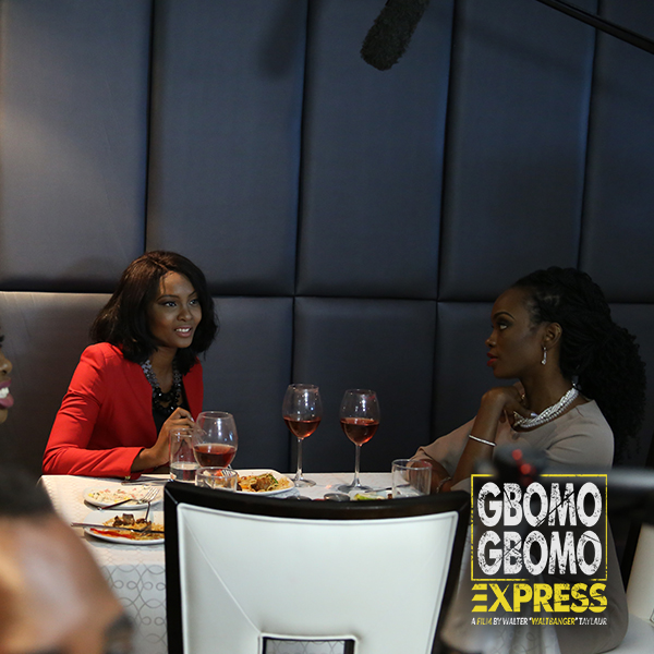 Gbomo-Gbomo Express (5) - Osas Ajibade and Sharon Robinson