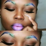 Glitter Brows - BellaNaija - July2015