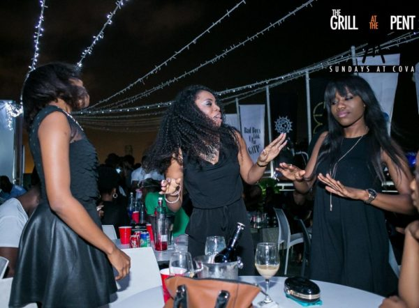 Grill At The Pent All Black Edition - Bellanaija - July2015006