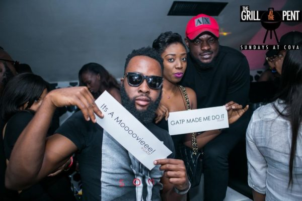 Grill At The Pent All Black Edition - Bellanaija - July2015010
