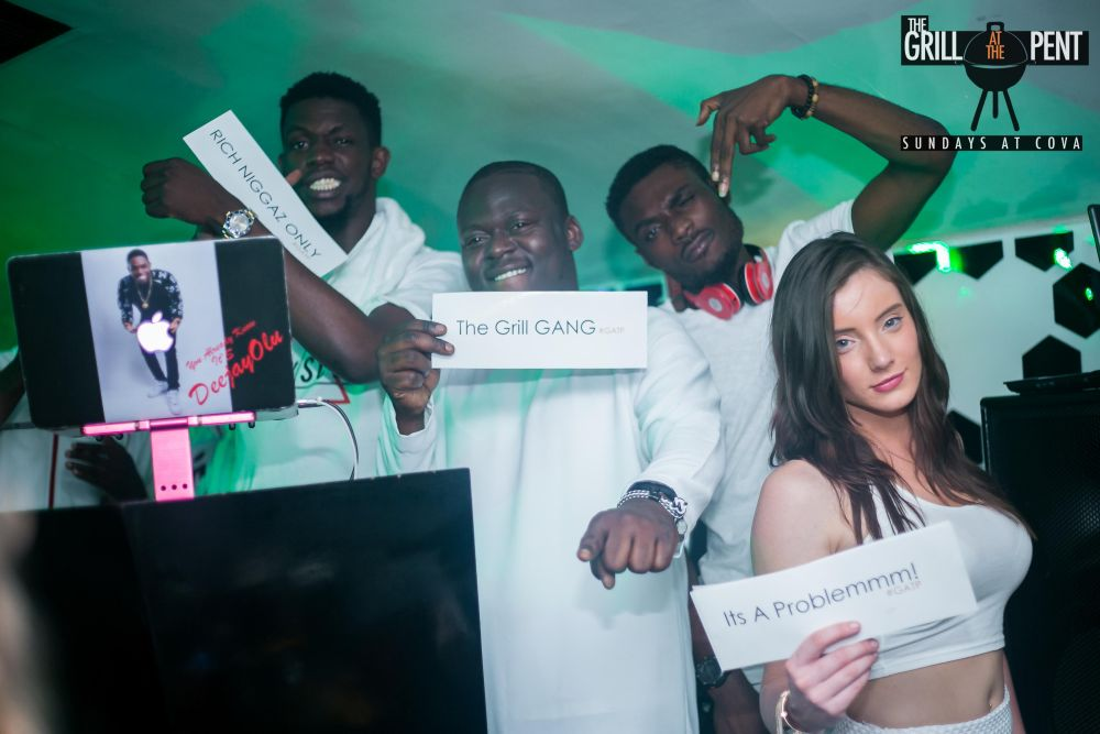 Grill At The Pent All White Soiree - Bellanaija - July2015043