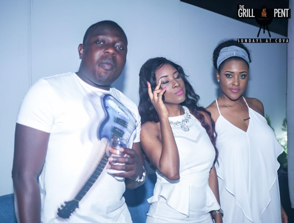 Grill At The Pent All White Soiree - Bellanaija - July2015047