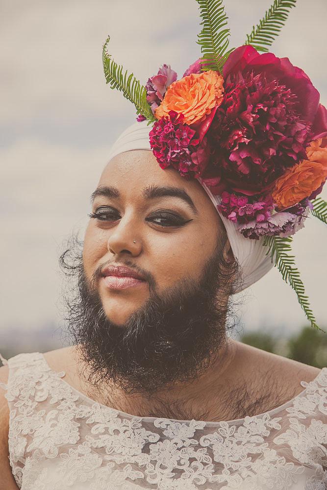 Harnaam Kaur for Urban Bridesmaid Bridal Shoot - BellaNaija - June2015