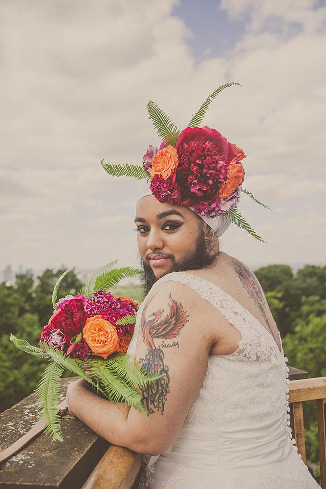Harnaam Kaur for Urban Bridesmaid Bridal Shoot - BellaNaija - June2015001