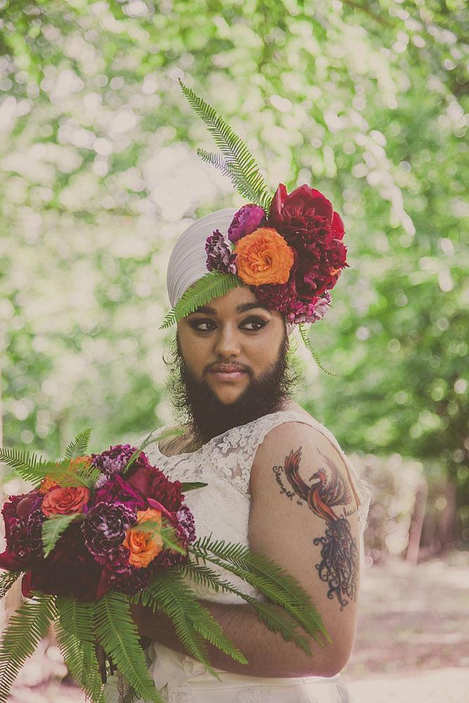 Harnaam Kaur for Urban Bridesmaid Bridal Shoot - BellaNaija - June2015002