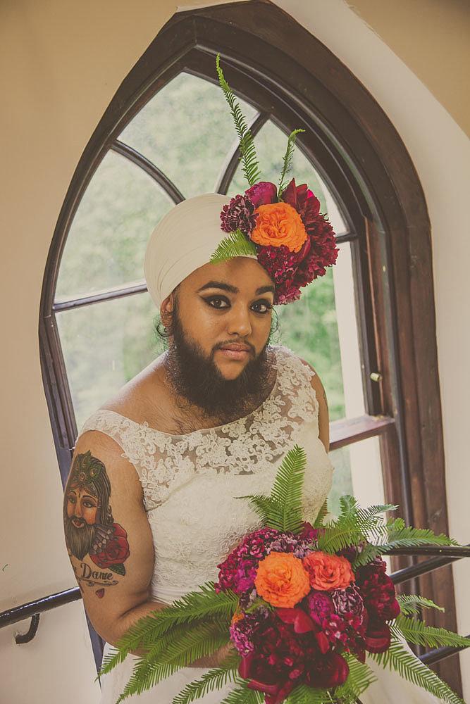 Harnaam Kaur for Urban Bridesmaid Bridal Shoot - BellaNaija - June2015004
