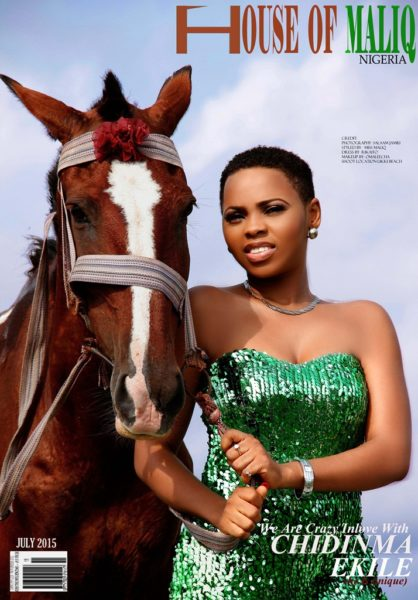 HouseOfMaliq-Magazine-Cover-2015-Chidinma-Ekile-posing-with-a-horse-horse-photography-June-Edition-2015-Editorial-fdfdfddds