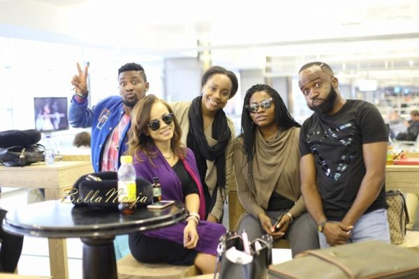 Dotun Kayode, Stephanie Eze, Liz Awoliyi, Noble Igwe