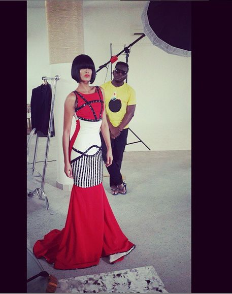 Iconic Invanity Behind the Scenes Rhythm Collection - BellaNaija - July2015 (2)
