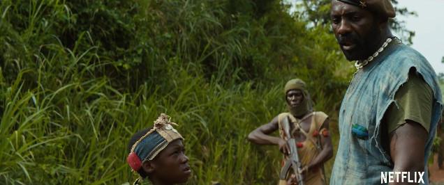Idris Elba in Beasts of No Nation - BellaNaija - July2015