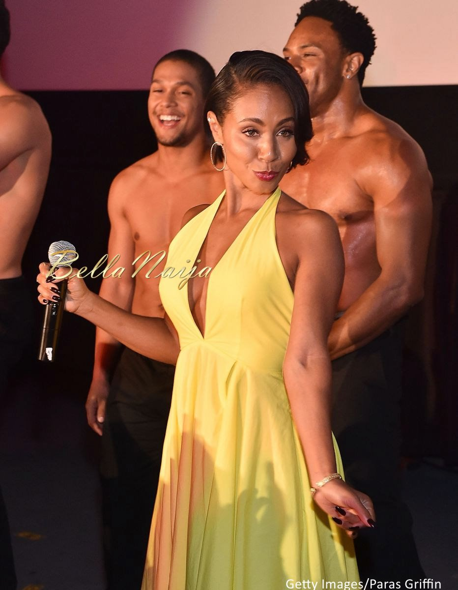 Jada Pinkett Smith Magic Mike XXL Premiere Fashion Looks - Bellanaija - July2015002