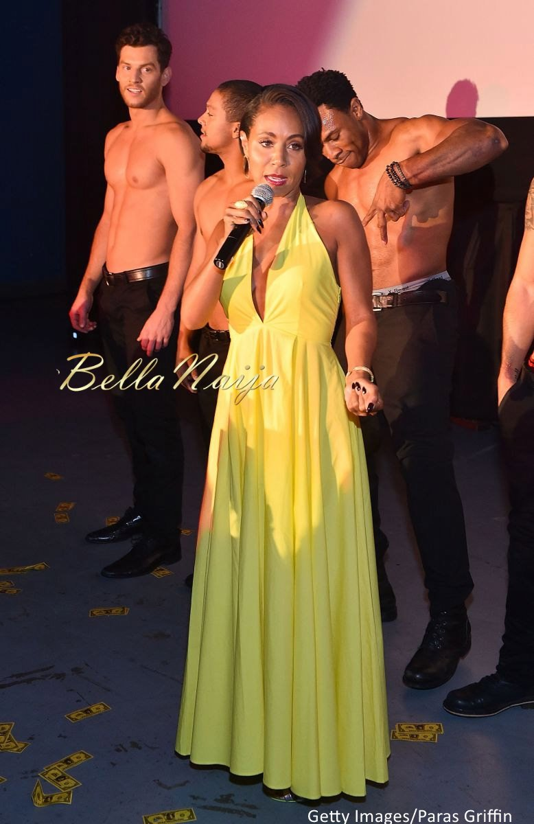 Jada Pinkett Smith Magic Mike XXL Premiere Fashion Looks - Bellanaija - July2015003