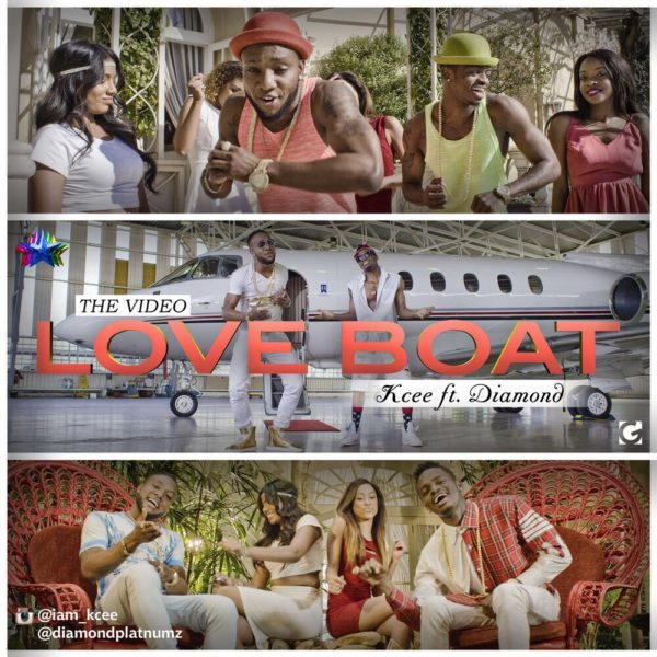 Kcee feat. Diamond Platnumz - Love Boat - BellaNaija - July - 2015