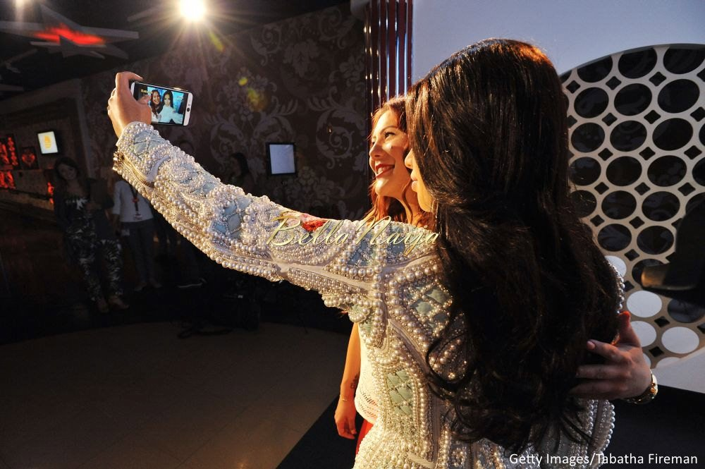 Kim Kardashian West Madam Tussauds Wax Selfie Figure - Bellanaija - July2015006
