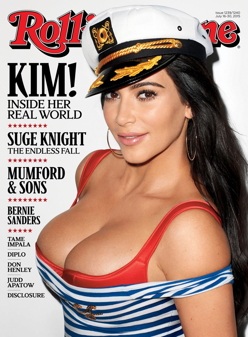 Kim Kardashian for Rolling Stone Magazine - BellaNaija - July2015