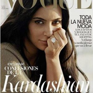 Kim Kardashian for Vogue Spain - BellaNaija - July2015