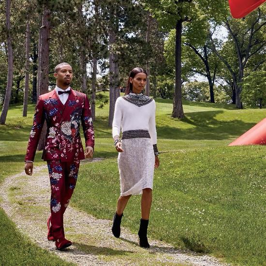 Liya Kebede and Michael B. Jordan for Vogue August 2015 - BellaNaija - July2015001