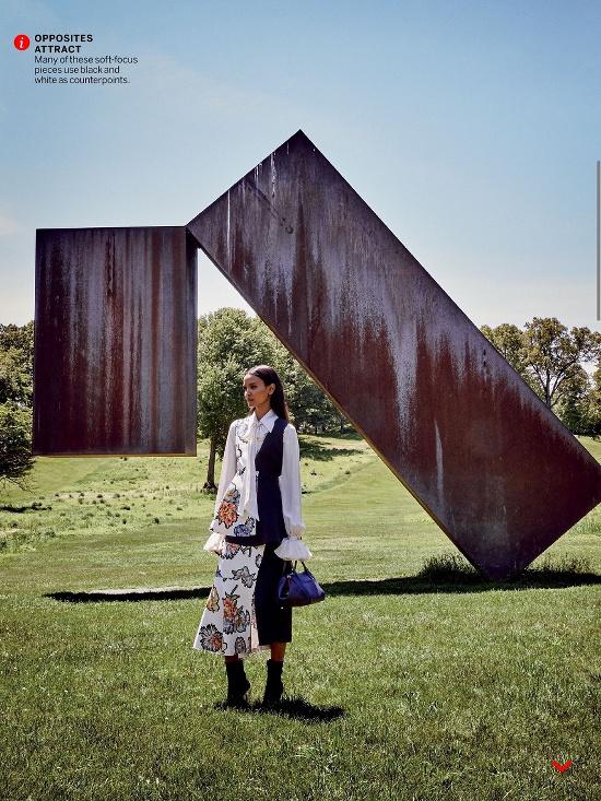 Liya Kebede and Michael B. Jordan for Vogue August 2015 - BellaNaija - July2015002
