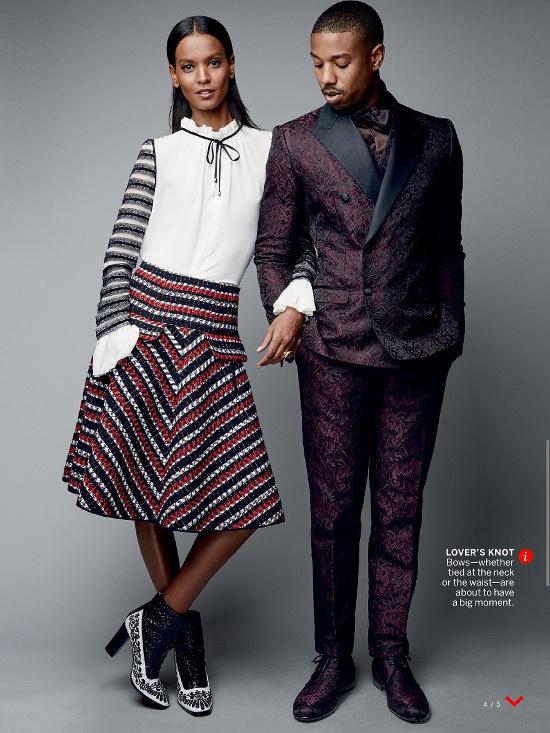 Liya Kebede and Michael B. Jordan for Vogue August 2015 - BellaNaija - July2015003