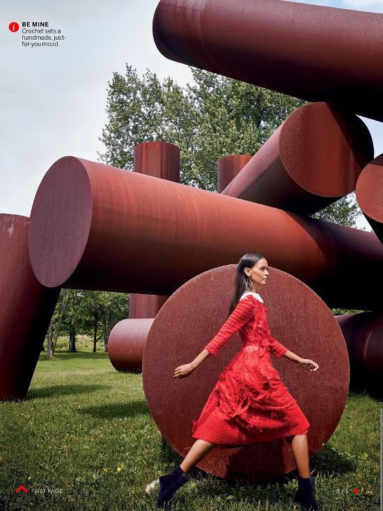 Liya Kebede and Michael B. Jordan for Vogue August 2015 - BellaNaija - July2015004