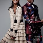 Liya Kebede and Michael B. Jordan for Vogue August 2015 - BellaNaija - July2015