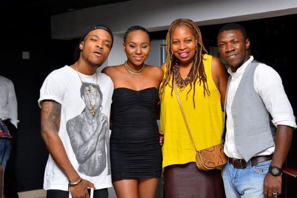[L-R] Samad, Daala Oruwari, Ngozi Omambala (Managing Director, LoudNProudLive) & Kesienah Eboh