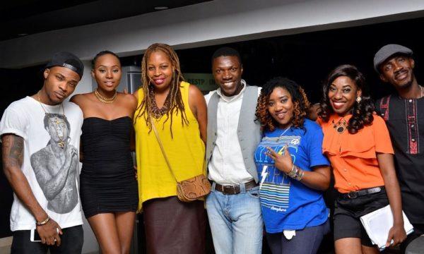 [L-R] Daala Oruwari, Ngozi Omambala (Managing Director, LoudNProudLive), Kesienah Eboh, May & Wofai Samuel