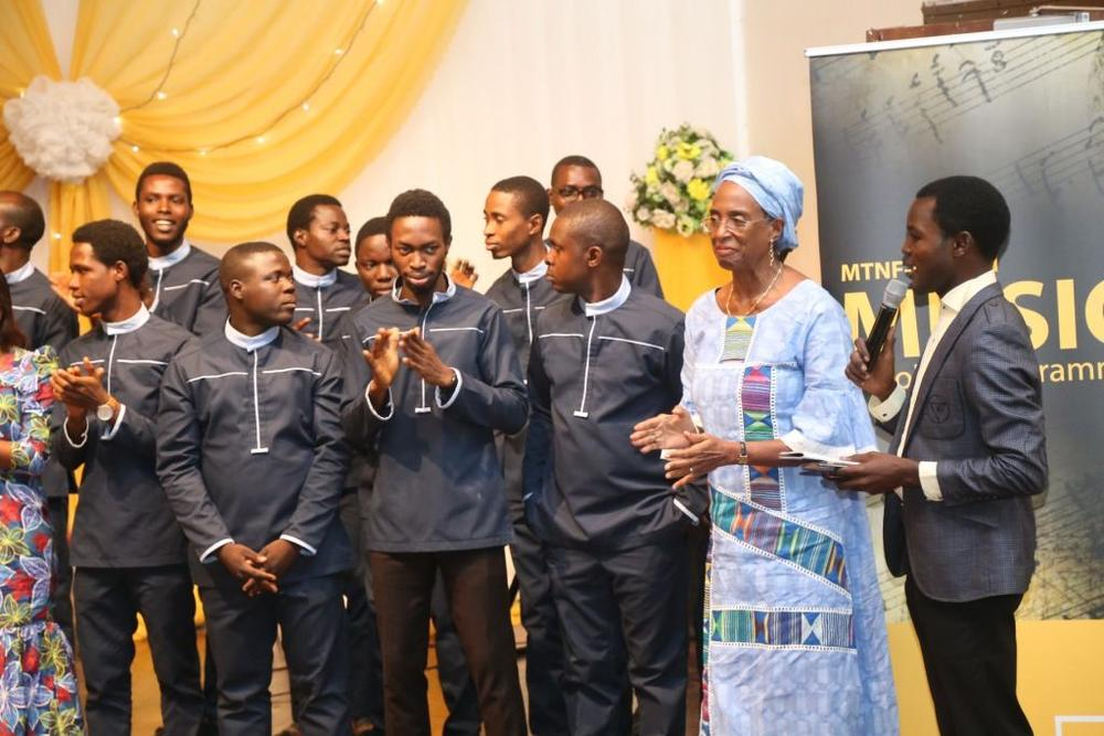 Mtnf muson music scholars perform at the 8th graduation ceremony