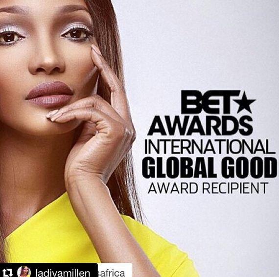 Millen Magese BET Global Good Award - BellaNaija - July2015002