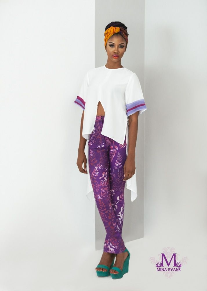 Mina Evans Spring Summer 2015 Collection Lookbook - Bellanaija - July2015001