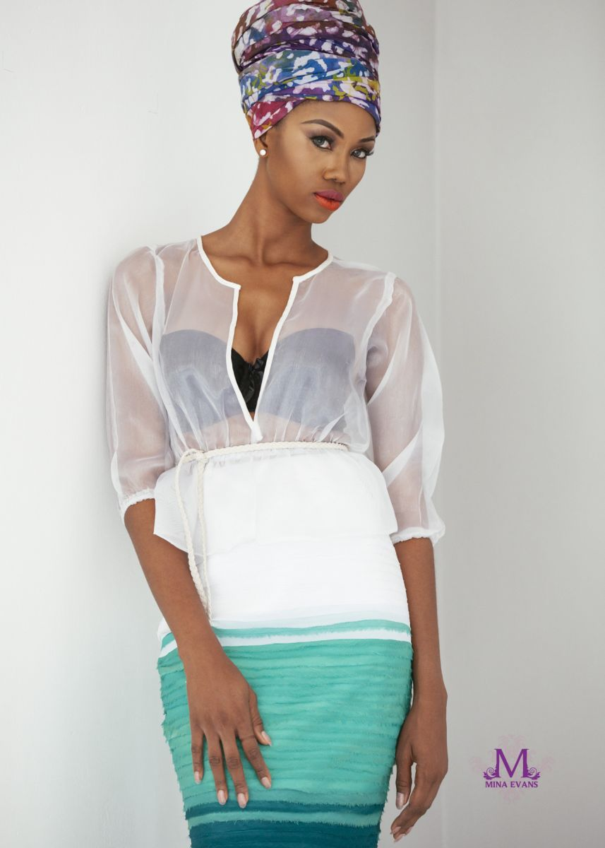 Mina Evans Spring Summer 2015 Collection Lookbook - Bellanaija - July2015005