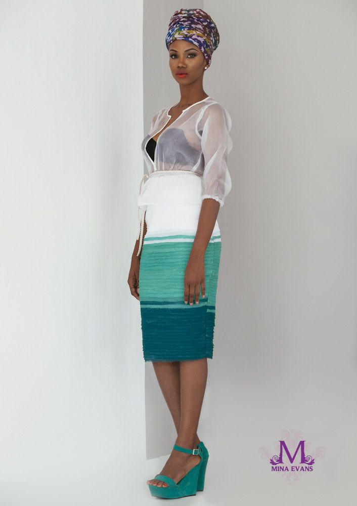 Mina Evans Spring Summer 2015 Collection Lookbook - Bellanaija - July2015006