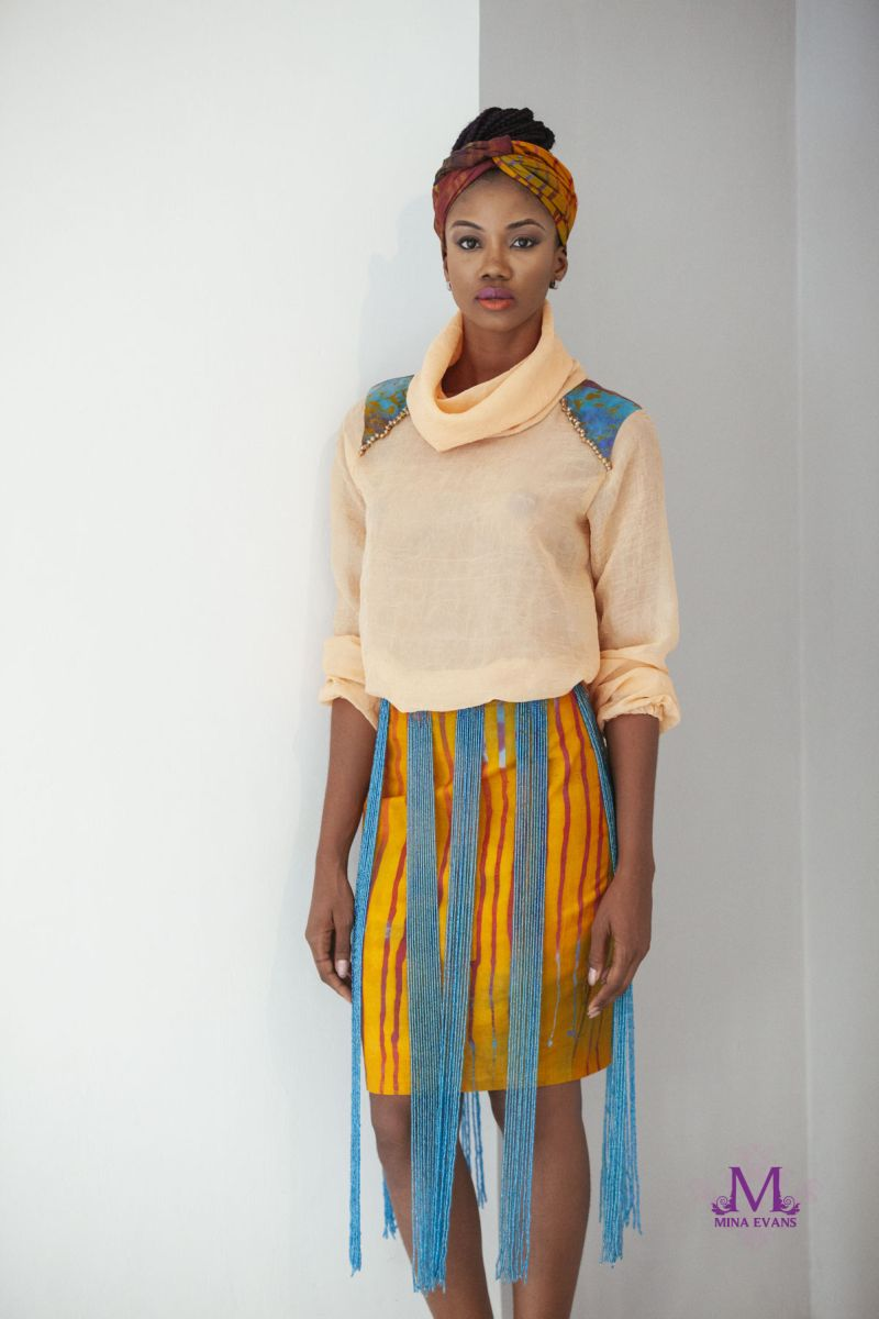 Mina Evans Spring Summer 2015 Collection Lookbook - Bellanaija - July2015008