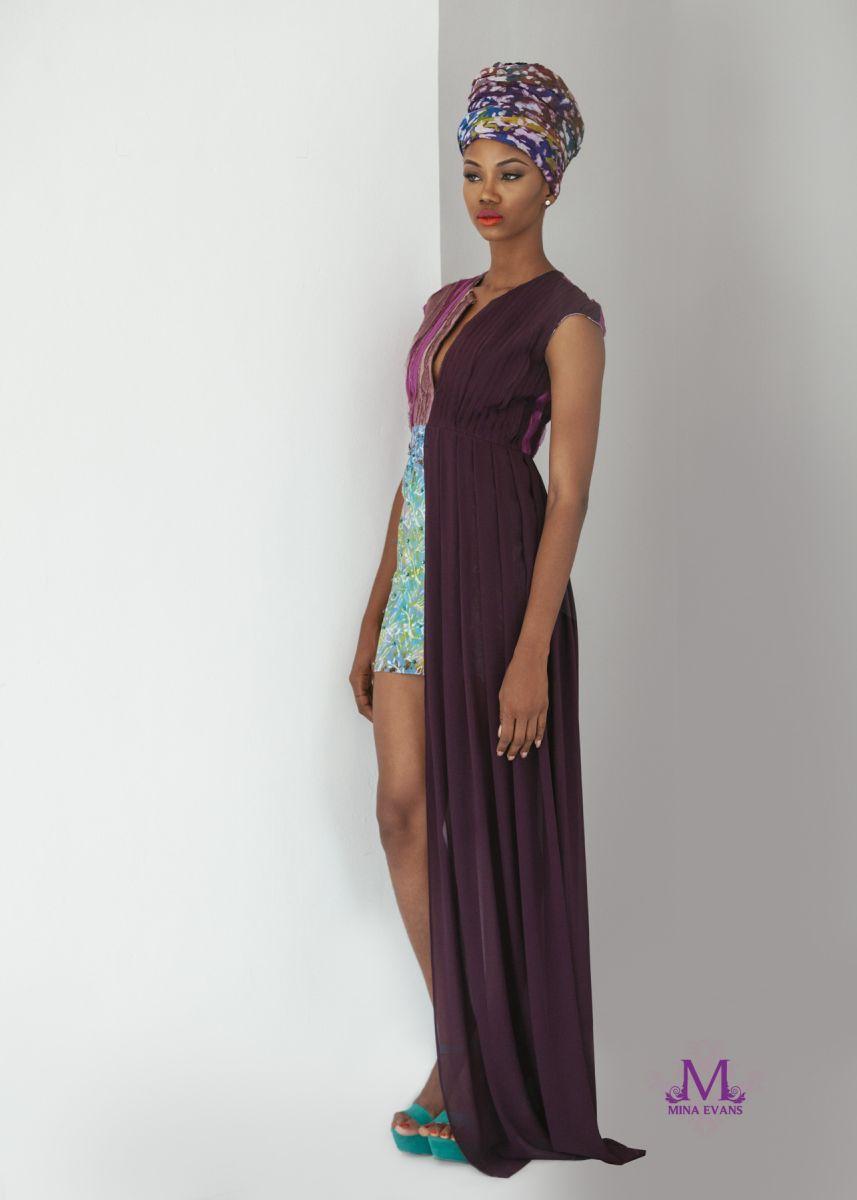 Mina Evans Spring Summer 2015 Collection Lookbook - Bellanaija - July2015015