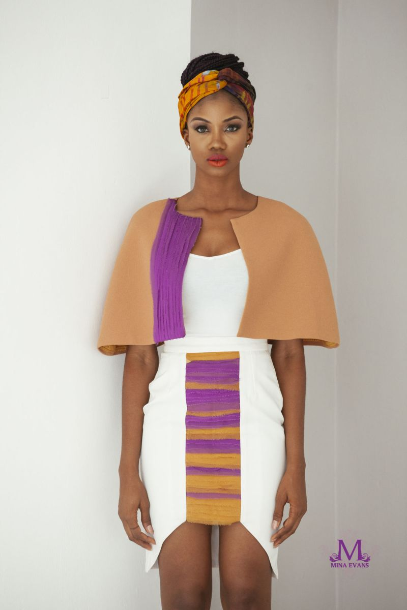 Mina Evans Spring Summer 2015 Collection Lookbook - Bellanaija - July2015016