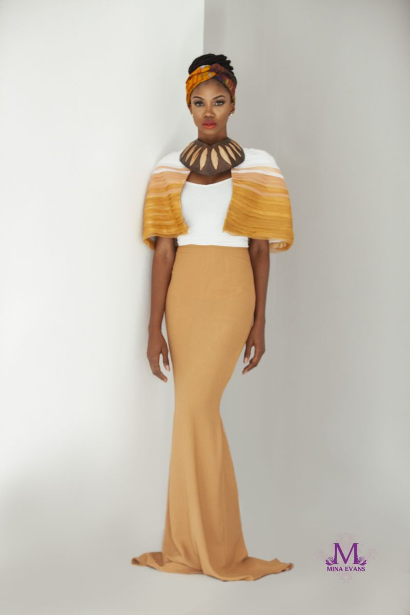 Mina Evans Spring Summer 2015 Collection Lookbook - Bellanaija - July2015017