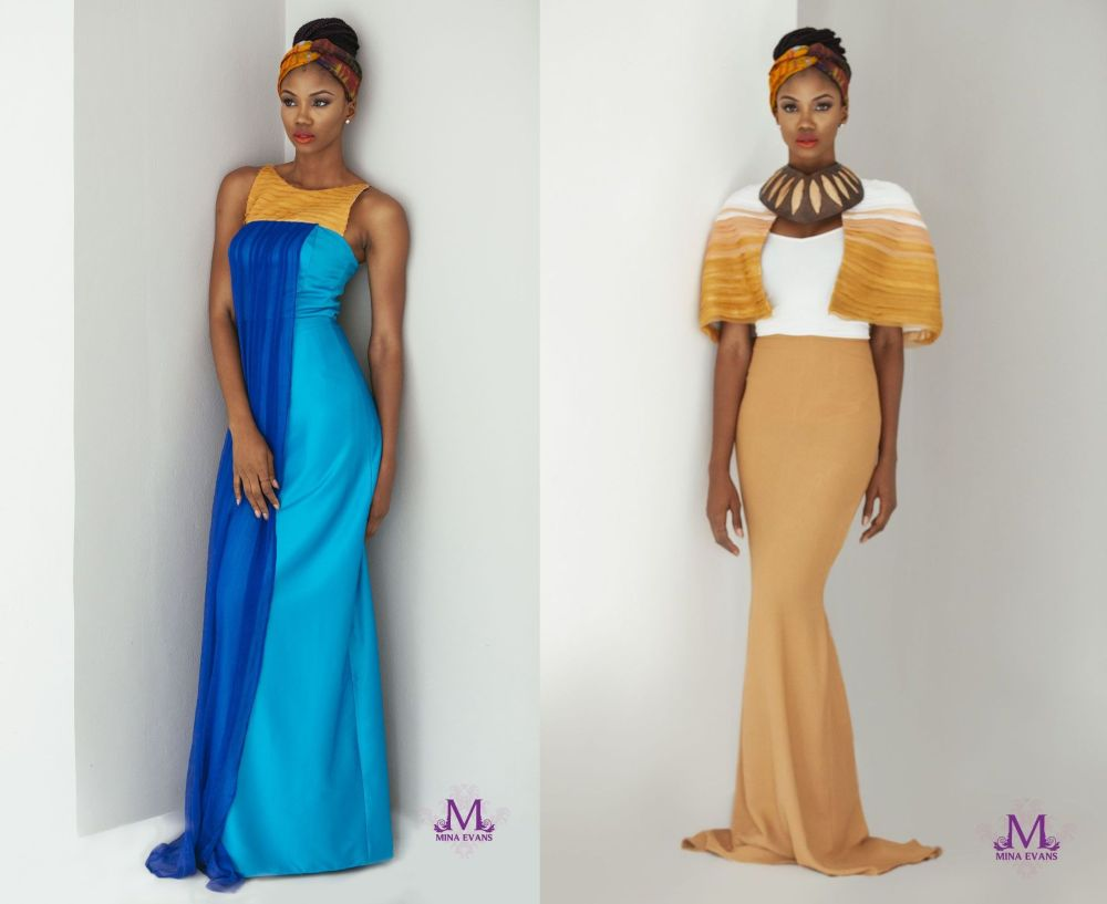 Mina Evans Spring Summer 2015 Collection Lookbook - Bellanaija - July2015019