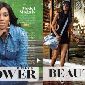 Mo Abudu & Millen Magese for Essence Magazine - BellaNaija - July2015