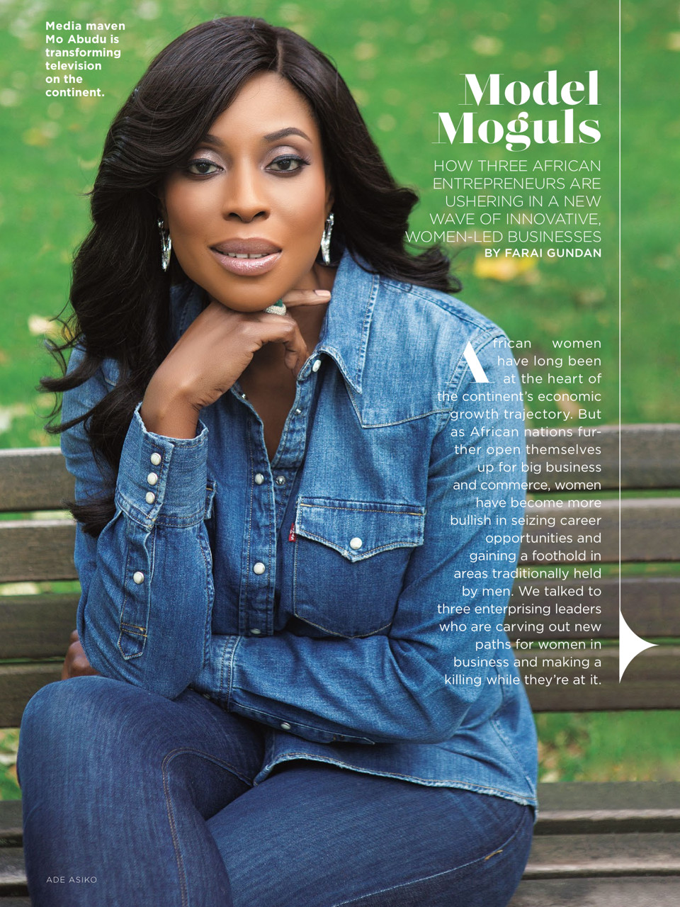 Mo Abudu for Essence Magazine - July2015