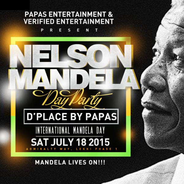 NELSON MANDELA DAY PARTY
