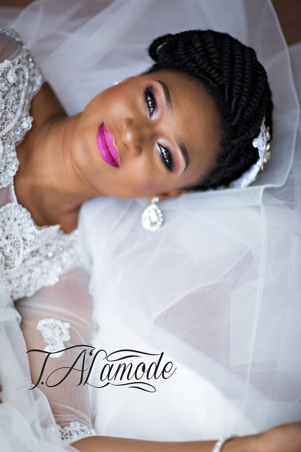 Striking Natural Hair Looks For The 2015 Bride: Striking Natural Hair Looks For The 2015 Bride!