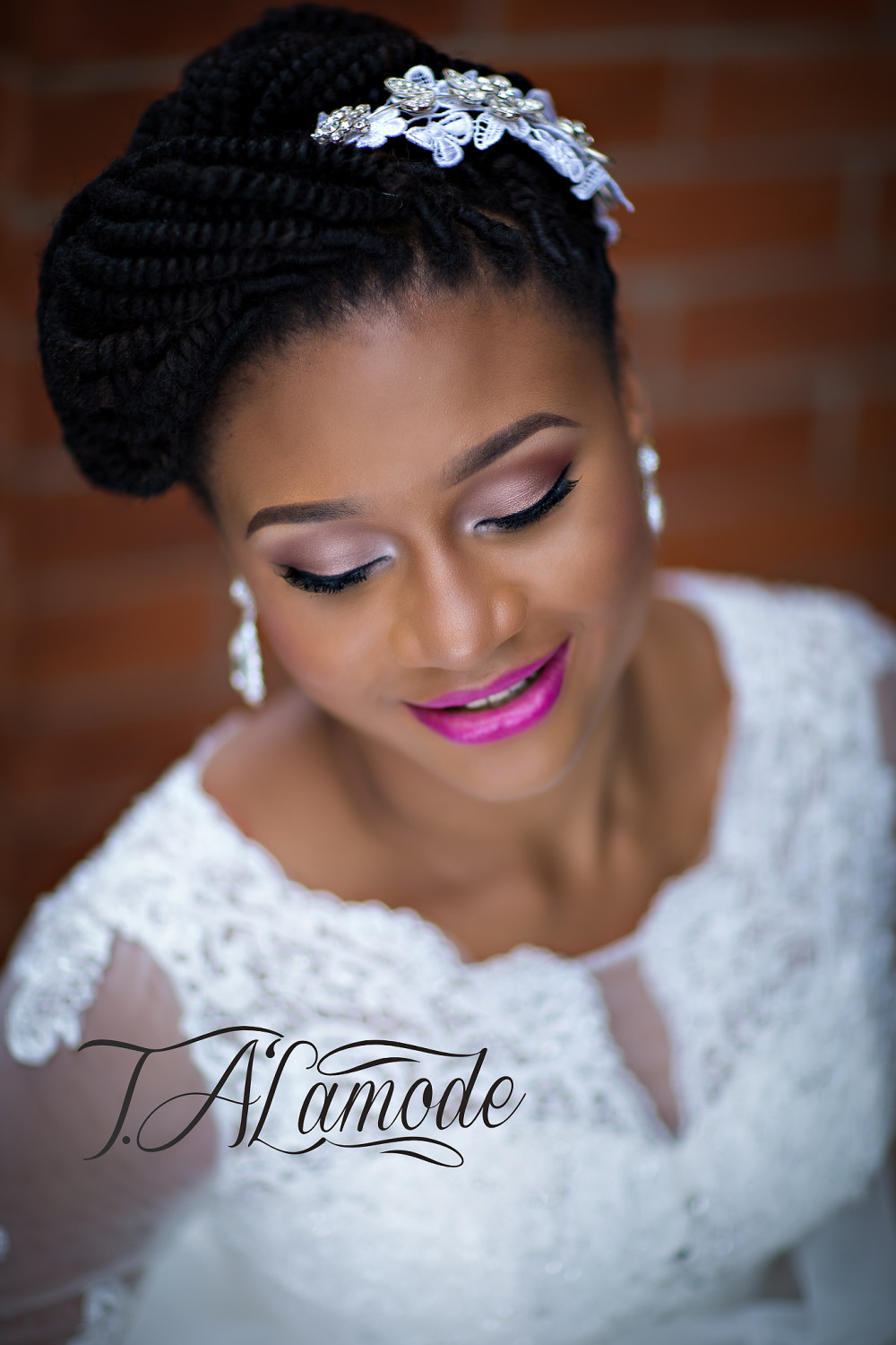 Striking Natural Hair Looks for the 2015 Bride! T.Alamode ...