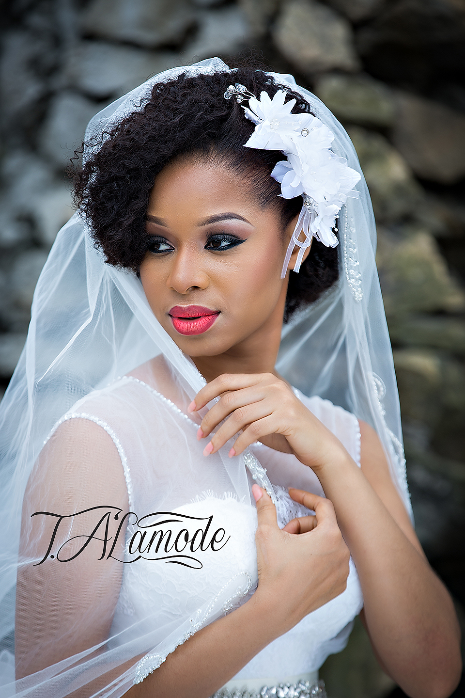 Nigerian Bridal Natural Hair And Makeup Shoot Black Bride