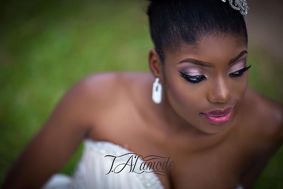 Nigerian Bridal Natural Hair and Makeup Shoot - Black Bride - BellaNaija 2015 07