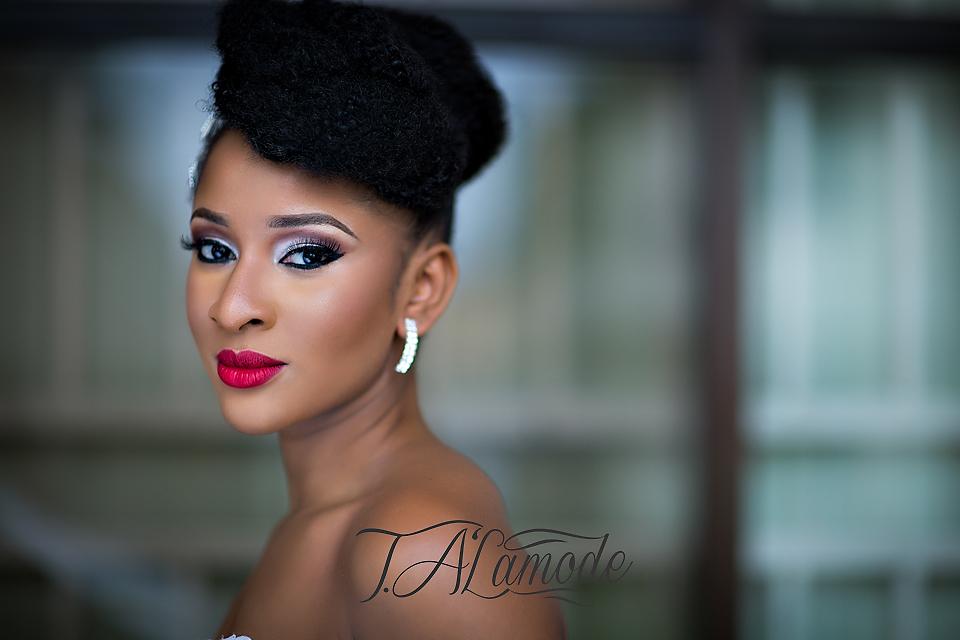 Nigerian Bridal Natural Hair and Makeup Shoot - Black Bride - BellaNaija 2015 08